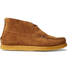 Yuketen Sports Chukka Textured-Leather Boots