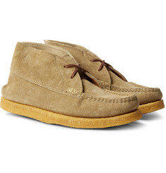 Yuketen - Sports Chukka Textured-Leather Boots