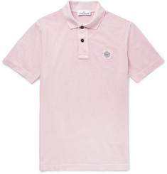 Stone Island Cotton-Jersey Polo Shirt