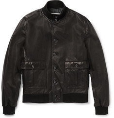 Valstar - Valstarino Leather Bomber Jacket