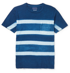 Blue Blue Japan Itajime-Dyed Cotton-Jersey T-Shirt