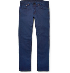 Blue Blue Japan Slim-Fit Stretch-Cotton Twill Jeans