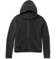 Beams - Wool-Blend Fleece Zip-Up Hoodie