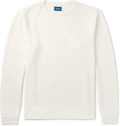Beams Cotton- Piqué Sweatshirt
