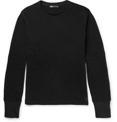 Y-3 Loopback Cotton-Jersey Sweatshirt