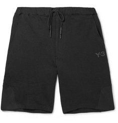 Y-3 Loopback Cotton-Jersey Shorts
