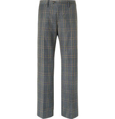 Stella McCartney - Grey Prince of Wales Checked Wool Suit Trousers