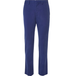 Stella McCartney - Blue Slim-Fit Woven Suit Trousers
