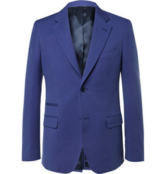 Stella McCartney - Blue Slim-Fit Woven Suit Jacket