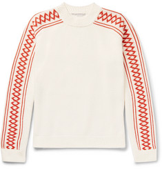 Stella McCartney Intarsia Cotton Sweater