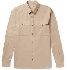 Stella McCartney Button-Down Collar Cotton-Piqué Shirt