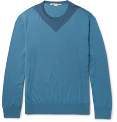Stella McCartney Colour-Block Wool Sweater
