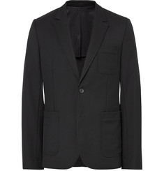 AMI - Black Slim-Fit Wool Suit Jacket