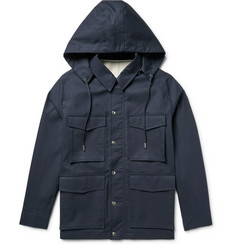 AMI Cotton Hooded Parka