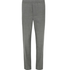 AMI Slim-Fit Tapered Wool Trousers