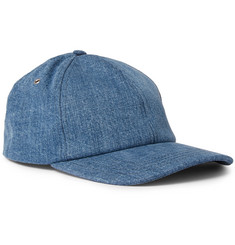 AMI Denim Baseball Cap