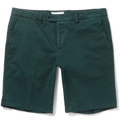 AMI Stretch-Cotton Twill Shorts