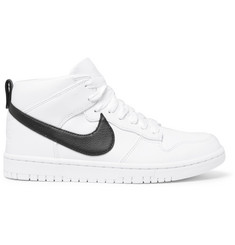 Nike + Riccardo Tisci Dunk Lux Chukka Leather High-Top Sneakers