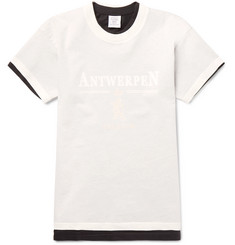 Vetements - + Hanes Layered Printed Cotton-Jersey T-Shirt