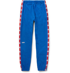 Vetements + Champion Slim-Fit Loopback Cotton-Blend Jersey Sweatpants