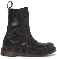 Vetements + Dr. Martens Borderline Polished-Leather Boots