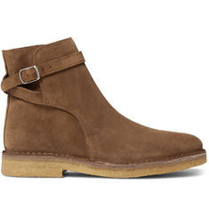 AMI Suede Jodhpur Boots