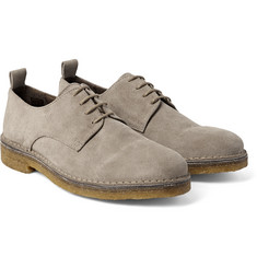 AMI - Suede Derby Shoes