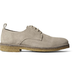 AMI Suede Derby Shoes