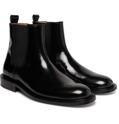 AMI - Polished-Leather Chelsea Boots