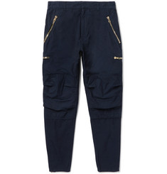 Balmain Cotton-Twill Cargo Trousers