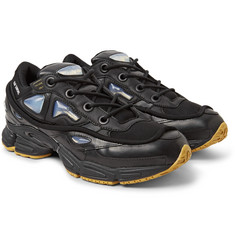 Raf Simons - + adidas Originals Ozweego Bunny Rubber, Mesh and Leather Sneakers
