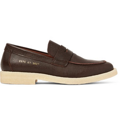 Common Projects Pebble-Grain Leather Penny Loafers