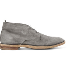 Officine Creative Suede Chukka Boots