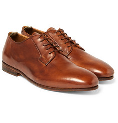 Officine Creative - Revien Polished-Leather Derby Shoes