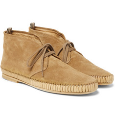 Officine Creative - Maurice Shirred Suede Chukka Boots