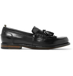 Officine Creative Cambridge Leather Kiltie Tasselled Loafers