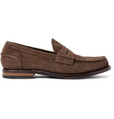 Officine Creative Cambridge Suede Penny Loafers
