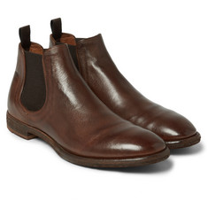 Officine Creative Princeton Leather Chelsea Boots