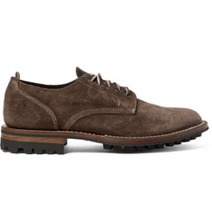Officine Creative Victoria Suede Derby Shoes