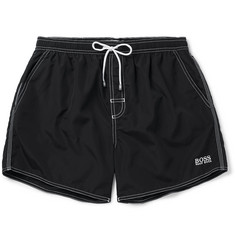 Hugo Boss Lobster Mid-Length Swim Shorts
