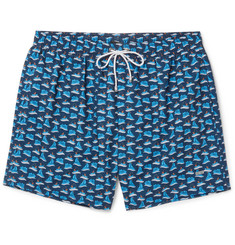 Hugo Boss - Mid-Length Printed Swim Shorts