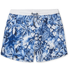 Hugo Boss Mid-Length Printed Swim Shorts