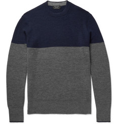 Rag & bone Camden Colour-Block Cashmere Sweater