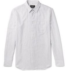 Rag & bone Beach Pinstriped Cotton Shirt