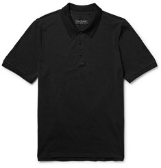 rag & bone Farris Pima Cotton-Piqué Polo Shirt