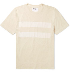 Margaret Howell MHL Printed Cotton and Linen-Blend T-Shirt