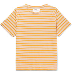 Margaret Howell Matelot Striped Cotton-Jersey T-Shirt