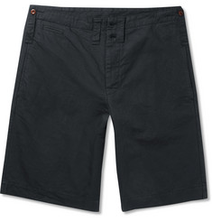Margaret Howell MHL Scout Cotton and Linen-Blend Shorts
