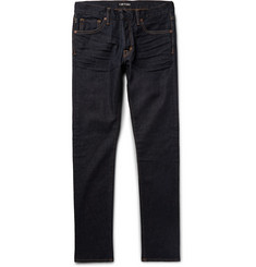 TOM FORD Slim-Fit Washed Stretch-Denim Jeans