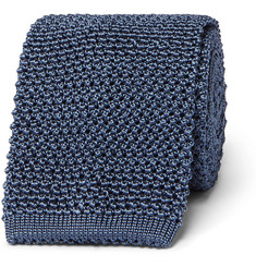 TOM FORD - 8cm Knitted Silk Tie